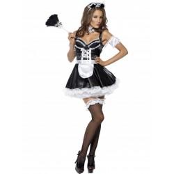 Costum menajera franceza rochie teatru erotica
