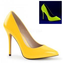 Pantofi AMUSE 20 stiletto comozi galbeni