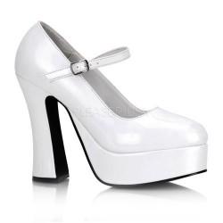 Pantofi DOLLY 50 Alb