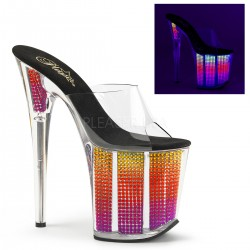 papuci cu platforma inalta de club dansatoare FLAMINGO 801 SRS