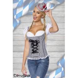 Bluza corset Dirdnl oktoberfest berar 0031