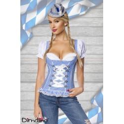 Bluza corset Dirdnl 0032