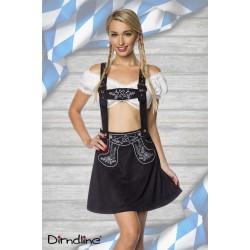 Costum Dirndl oktoberfest balul vanatorilor berar festivalul berii 0029 maro