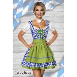 Rochie berar costum Oktoberfest dirndl 0003
