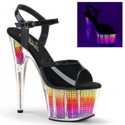 Sandale cu toc inalt papuci dansatoare ADORE 709 SRS