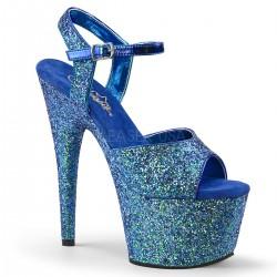Sandale papuci cu toc inalt dansatoare de club ADORE 710 LG