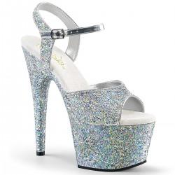 Sandale papuci dansatoare de club cu toc inalt  ADORE 710 LG