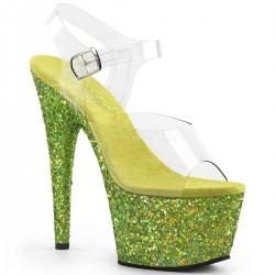 Sandale cu platforma inalta papuci de club ADORE 708 LG