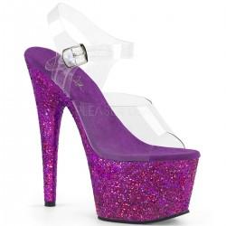 Sandale cu toc inalt papuci dansatoare ADORE 708 LG