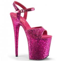 Sandale cu toc inalt papuci de club FLAMINGO 810 LG