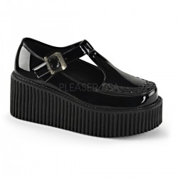 Pantofi demonia lolita gotic lac CREEPER 213