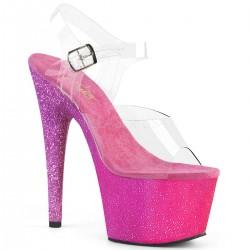 Sandale cu platforma inalta papuci dansatoare ADORE 708