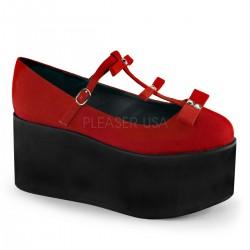 Pantofi stil lolita gotic Brand Demonia CLICK 08