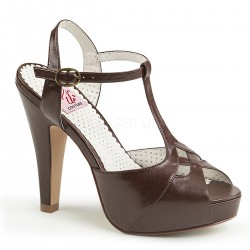 pantofi rockabilly pin up retro toc mediu BETTIE 22