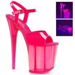 Sandale cu platforma inalta papuci dansatoare  FLAMINGO 809 UVT