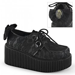 Pantofi demonia gotic lolita CREEPER 212