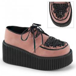 Pantofi stil gotic lolita punk talpa lata CREEPER 216