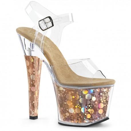 Sandale platforma inalta dansatoare silicon RADIANT708 BHG