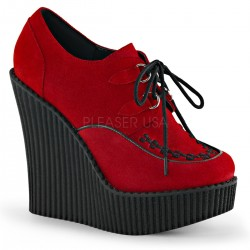 Pantofi demonia talpa ortopedica gotic CREEPER 302