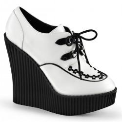Pantofi piele demonia talpa ortopedica CREEPER 302
