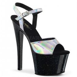Sandale cu platforma inalta papuci sexy club SKY 309 HG