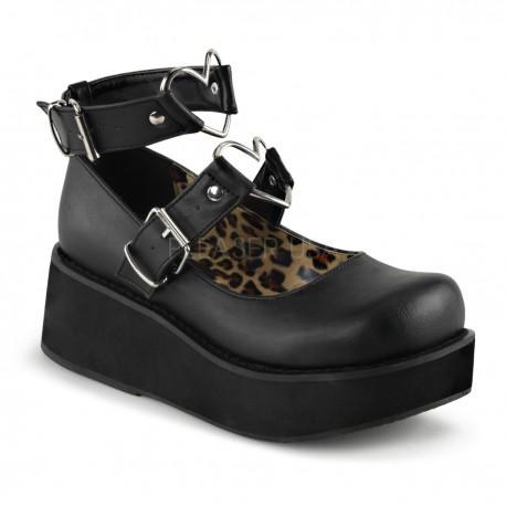 Pantofi stil gotic talpa lata demonia lac lolita SPRITE 02