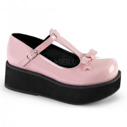 Pantofi stil gotic talpa lata demonia lac lolita SPRITE 03