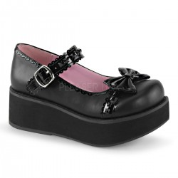 Pantofi stil gotic talpa lata demonia lac lolita SPRITE 04