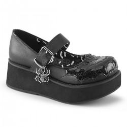 Pantofi stil gotic talpa lata demonia lac lolita SPRITE 05