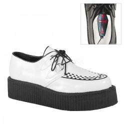 Pantofi V-CREEPER 502 stil gotic demonia barbati talpa lata