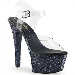 Sandale ASPIRE 608 LG papuci dansatoare platforma stralucitoare