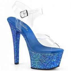 Sandale dansatoare platforma medie stralucitoare ASPIRE 608 LG