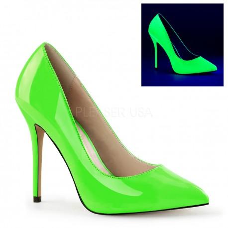 Pantofi AMUSE 20 comozi stiletto marimi mari toc inalt
