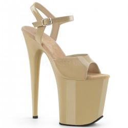 Sandale cu toc inalt papuci de dans la bara FLAMINGO 809