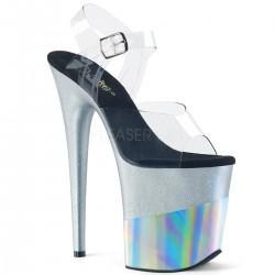 Sandale cu platforma inalta papuci de club FLAMINGO 808 2HGM