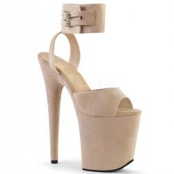 Sandale cu platforma inalta papuci dansatoare sexy club FLAMINGO 891