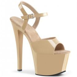 Sandale cu toc inalt papuci dansatoare SKY 309