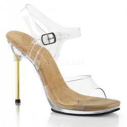 Sandale concurs fitness transparente fara platforma CHIC 07