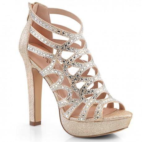 Sandale de ocazie, comode elegante toc mediu SELENE 24