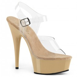 Sandale DELIGHT 608 de mireasa marimi mari papuci sexy club