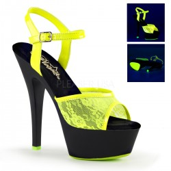 Sandale marimiri mari comode din lac de club KISS 209 ML