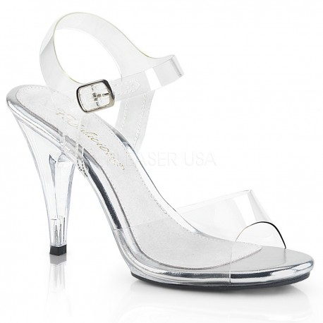 Sandale toc mediu silicon concurs fitness Caress 408