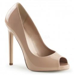 Pantofi stiletto eleganti nude SEXY 42