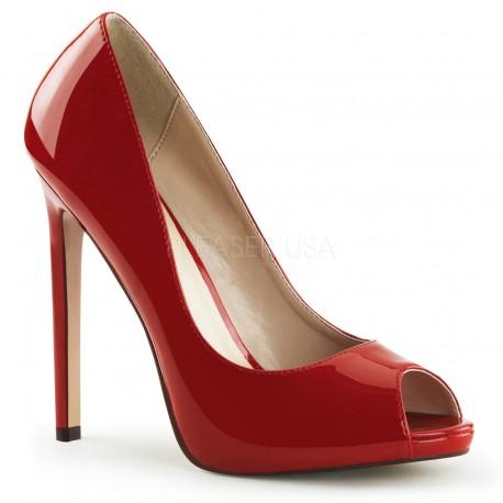 Pantofi stiletto eleganti rosii SEXY 42
