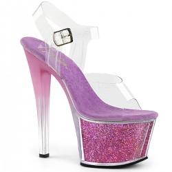 Sandale cu platforma inalta papuci sexy de club SKY 308 G-T