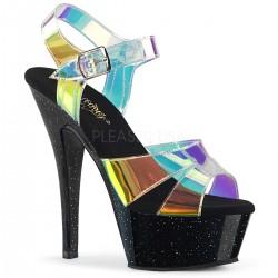 Sandale KISS 220 MMR de mireasa cu toc mediu comode silicon pleaser