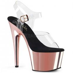 Sandale cu silicon papuci dansatoare ADORE 708