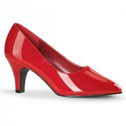 Pantofi marimi mari cu toc mic, comozi DIVINE 420