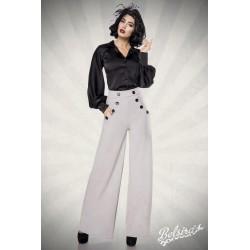 Pantaloni Marlene vintage retro pin up largi