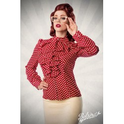 Camasa Retro pin up rockabilly volane vintage rosie